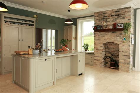 cream kitchen island painted larder and kitchen island in old white millennium