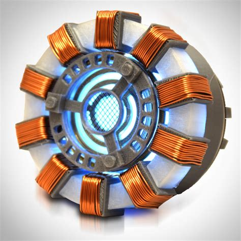 rare exclusive iron man prop arc reactor museum display