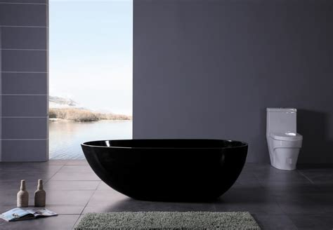 black bathtubs the sleek beauty of round bathtubs
