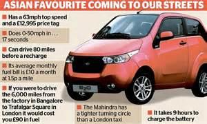 Cheapest Electric Car Australia Indian Auto Mahindra Announces Plan To Build Cheap