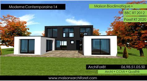 Plain Pied Ou Etage Moins Cher by Maison Toit Plat Pas Cher Mx68 Jornalagora