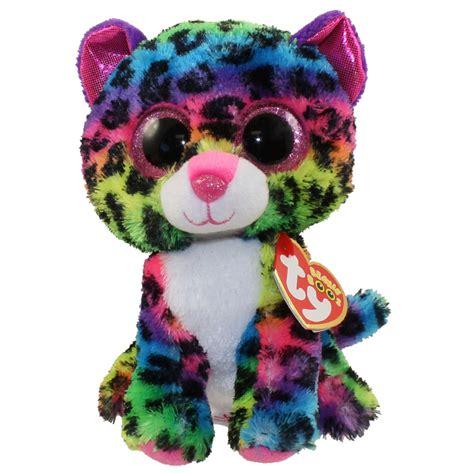 Gamis Dotty ty beanie boos dotty the rainbow leopard glitter