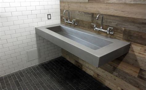 How To Make A Concrete Sink For Bathroom by Custom Concrete Bathroom Sinks Trueform Concrete