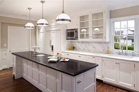absolute black honed granite kitchen contemporary with absolute black granite calacatta marble traditional