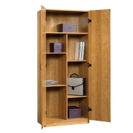oak kitchen pantry storage cabinet amazon com oak home or office storage cabinet organizer