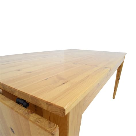 ikea drop leaf dining table 61 ikea ikea norma s pine wood drop leaf table tables