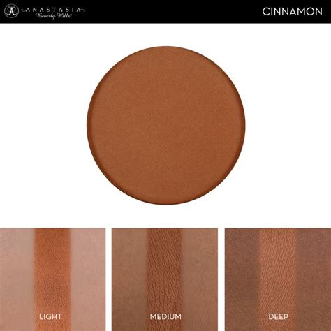 Creations Highight Dupe Abh Illuminating Pallete Beverly Contour Powder Shade In Cinnamon