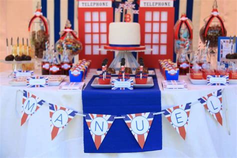london party themes ideas london themed birthday party via kara s party ideas