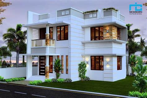 beautiful double floor house plan suit  cent