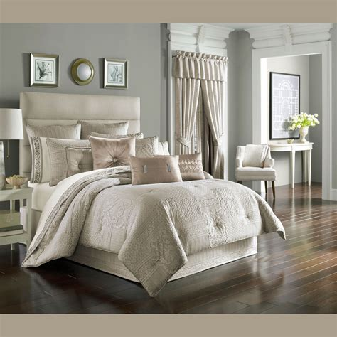 Beige Comforters Wilmington Beige Comforter Bedding By J Queen New York