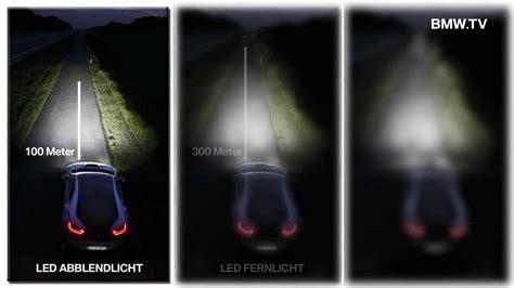 xenon lights vs led bmw light hybrid laser xenon technology