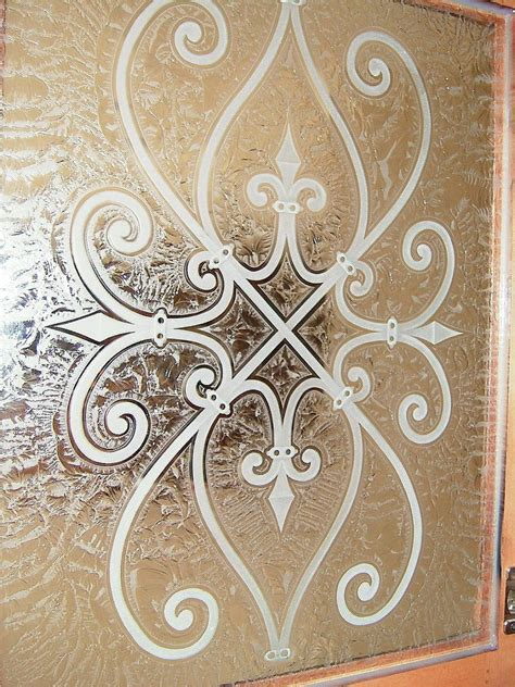 custom cabinet glass doors glass door cabinets inserts frosted carved custom glass
