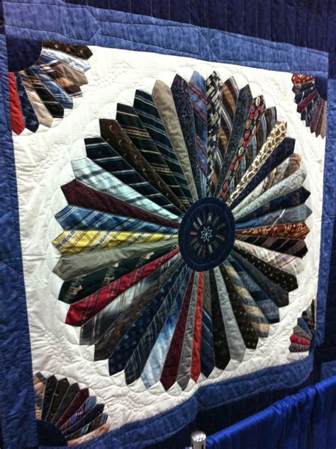 necktie quilt cool idea quilts necktie pattern