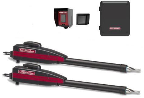 liftmaster dual swing gate opener liftmaster la400pkgu dual swing gate opener kit fast