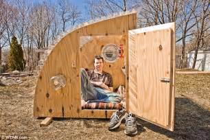 Micro Tiny House by The Charming 200 Micro Houses Made From Junk Daily Mail