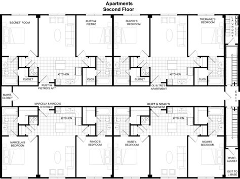apartment building floor plans popular small apartment building floor