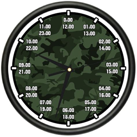 What Time Does Navy On - time wall clock army navy marine air time