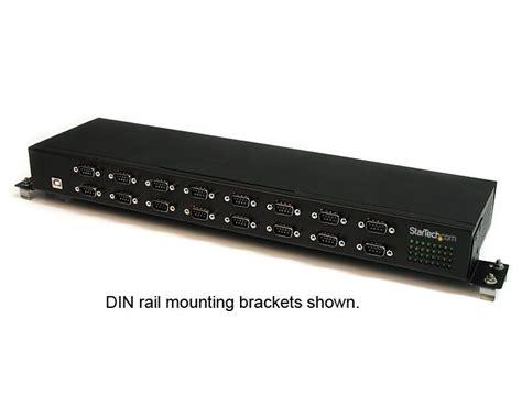 Switch Hub Rackmount startech 16 port gigabit rackmount switch icusb23216f ccl computers