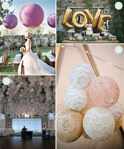 DIY Wedding: 8 Wedding Balloon Ideas We Love   Wedding