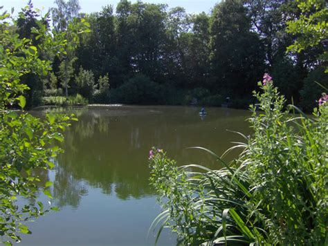 Fishing Lakes at Woodlands Fishery near Spilsby in ...