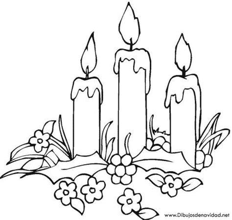 dibujos de navidad para colorear de velas dibujos de navidad velas de navidad para colorear