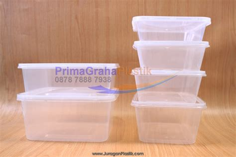 Thinwall Food Container Makanan Kotak Makan 1000ml 50pcs kotak plastik makanan crp 650 ml home
