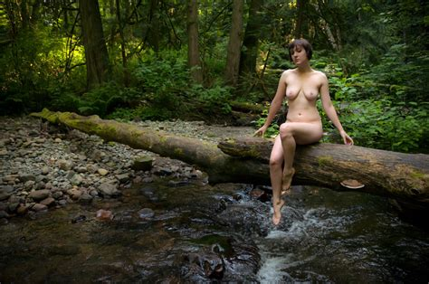 Naked In Nature Female Color Or Bw Artistic Nude The Lady