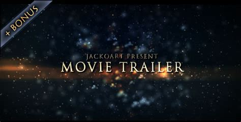 Movie Trailer 03 By Jackoart Videohive Trailer Template After Effects Project