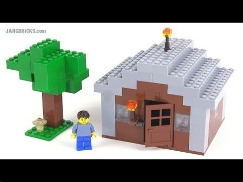 minecraft lego house lego minecraft custom minifig scale house my first youtube