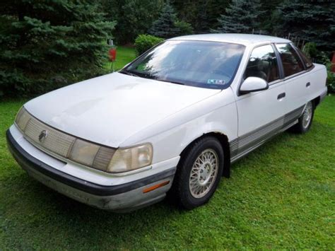 all car manuals free 1989 mercury sable engine control 1989 mercury sable ls with 3 0l engine for sale in north versailles pennsylvania united states