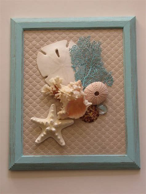 Beautiful Handmade Wall Hangings - seashell wall decor seashell wall decor shell