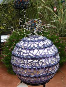 mosaic garden art projects images