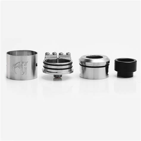 Sale Rda Goon 24mm Clone 1 1 goon 1 5 style rda silver stainless steel 24mm rebuildable