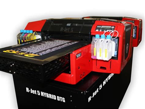 Printer Dtg 5 Juta resolute dtg the dtg hybrid system with no pre treatment for cotton polyester