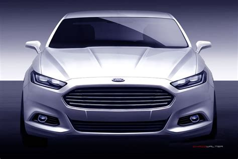 who designed the ford fusion ford fusion concept sketches 7 motocrit automotive