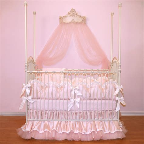 infant girl bedding custom for pugred11 soft pink luxury posh baby nursery 4 piece