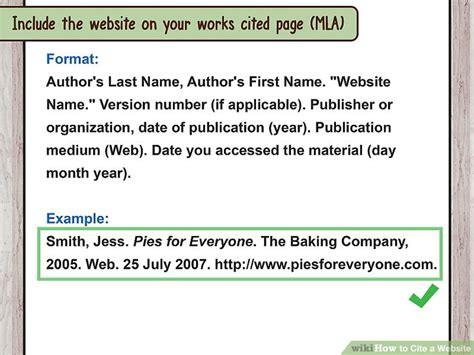 reference book website how to cite a website with sle citations wikihow