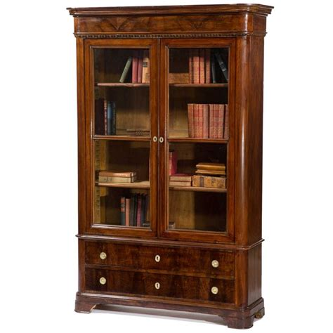 walnut bookcase with glass doors best 25 bookcase with glass doors ideas on