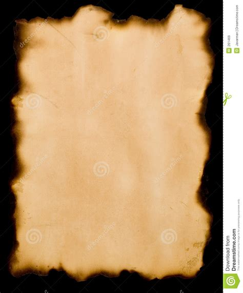 How To Make Burnt Paper - burnt paper royalty free stock images image 261469
