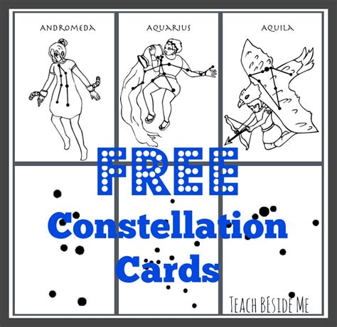 Free Printable Constellation Cards