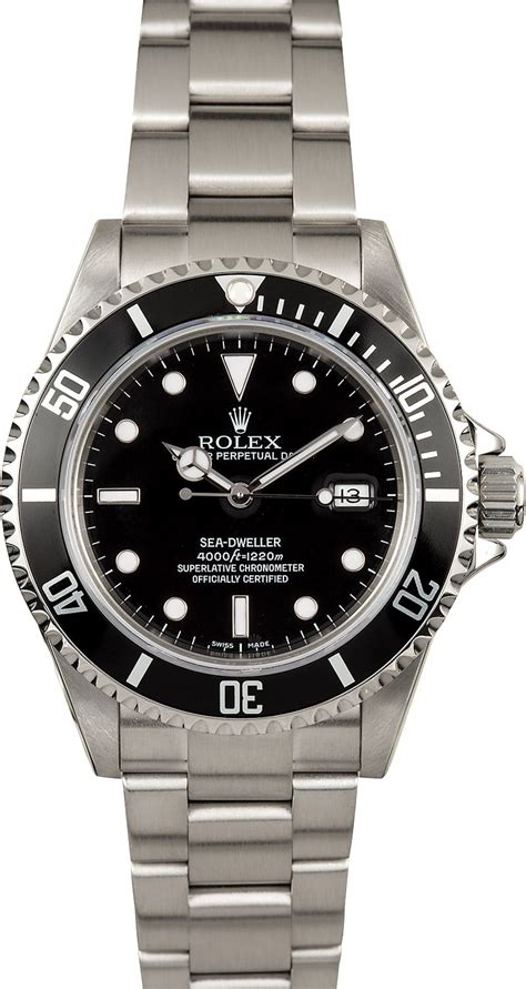 rolex dive watches rolex sea dweller 16600 diver s