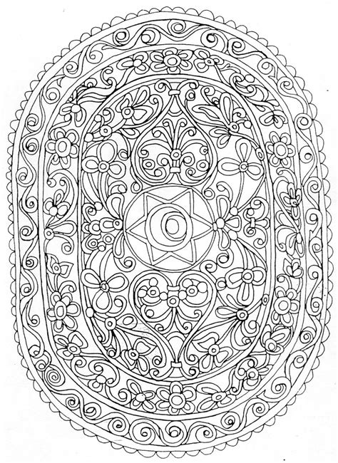 nature mandala coloring books free coloring pages of flower mandala