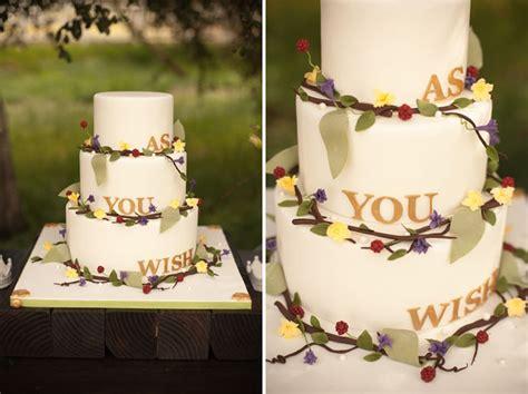 princess bride inspired wedding
