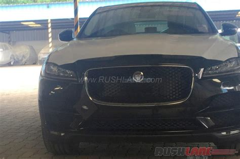 jaguar rate in india jaguar f pace lands in india spotted at dealer