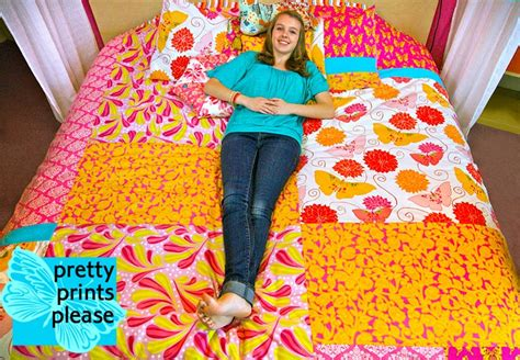 How To Make A Patchwork Quilt Cover - erika s chiquis how to make a patchwork duvet cover