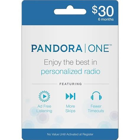 Pandora Music Gift Card - pandora one gift card 250 gifts for every kind of geek popsugar tech