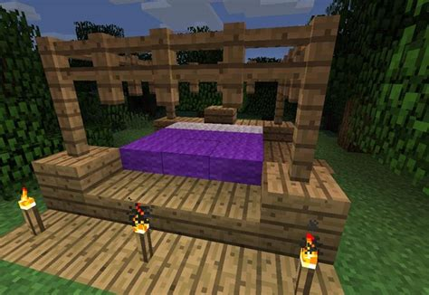 how to make bed in minecraft how to make furniture in minecraft 171 minecraft