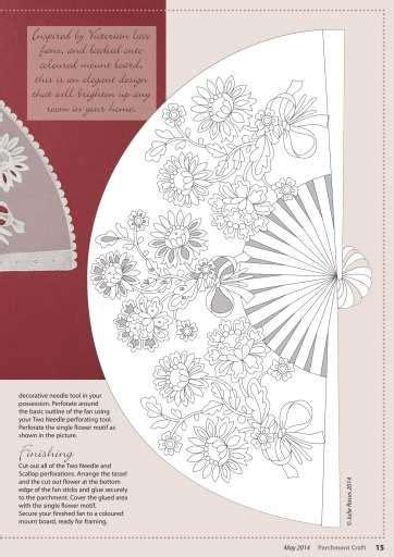 Folding Parchment Paper - 82 best parchment fans images on parchment