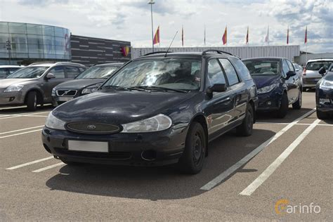 Fmp269 Ford Mondeo Combi 2 0 Manual 130hp 1999