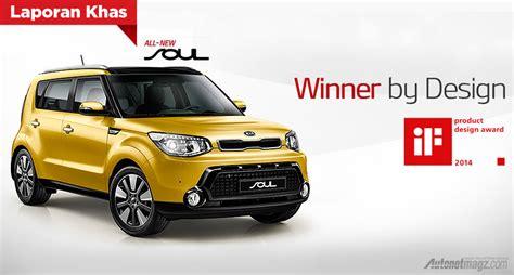 Kia Product All New Kia Soul Memenangkan Product Design Award